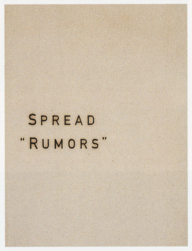 """Spread Rumors"" Brochure"