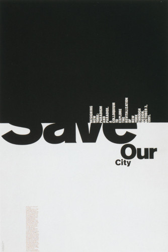 """Save Our City"""