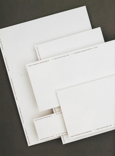 Tony Rinaldo Photography Stationery