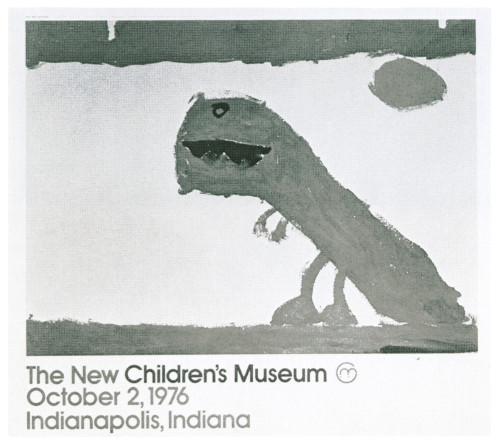 The Children's Museum Opening, poster