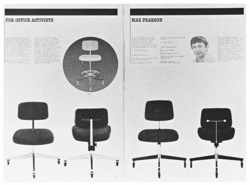 Office Seating, tabloid