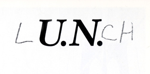 U.N. Lunch, logo