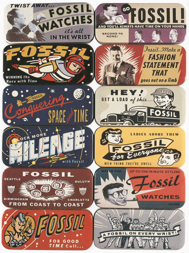 Fossil Tins