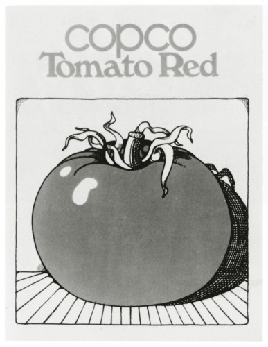 Tomato Red. poster