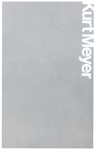 Kurt Meyer, booklet
