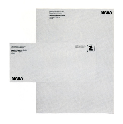 NASA, stationery series