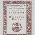 Book Arts Resource Guide