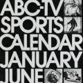 ABC-TV Sports Calendar January-June 1975