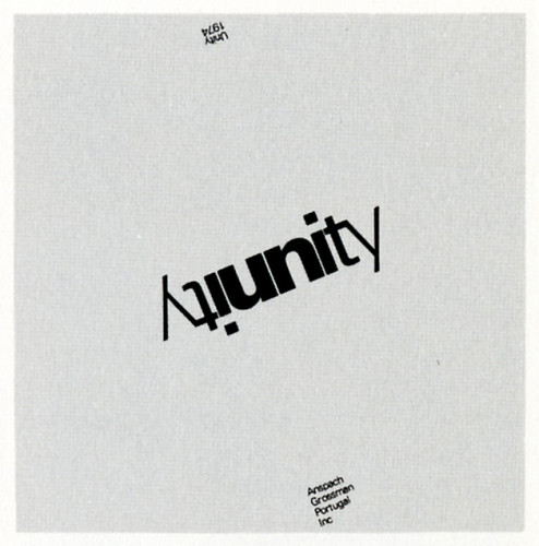 Unity 1974, New Year card