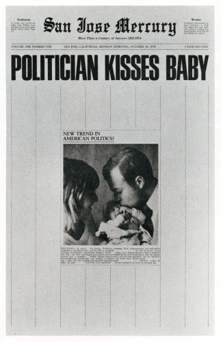 Politician Kisses Baby, announcement