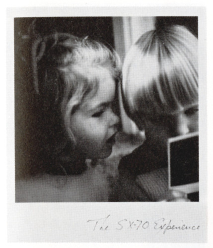 The SX-70 Experience, booklet