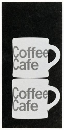 Coffee Cafe, menu