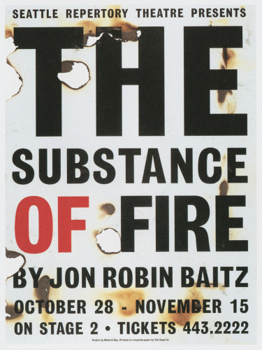 """The Substance of Fire"""