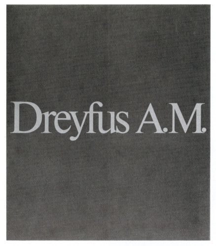 Dreyfus A.M. /The Challenge, brochure