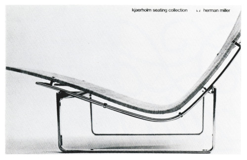 Kjaerholm Seating Collection, poster