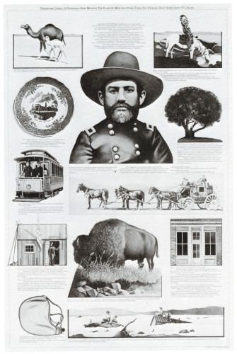 Prehistoric Camels, A Frenchman from Missouri…., poster