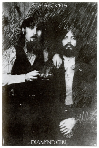 Seals & Crofts/Diamond Girl, poster