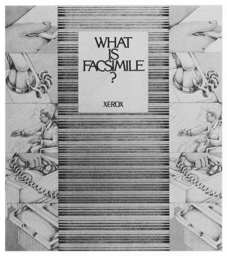 What is Facsimile?, brochure