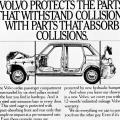 Volvo protects the parts that withstand collisions…
