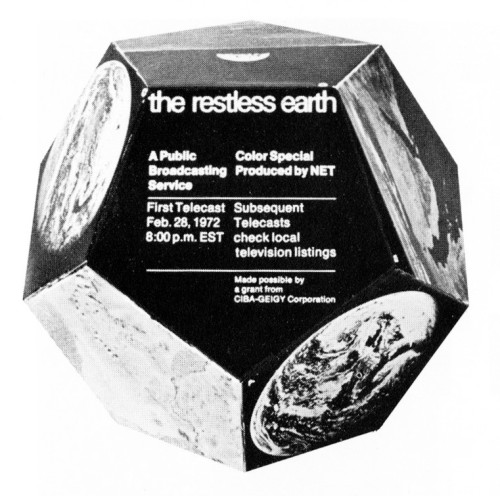 The Restless Earth, desk display