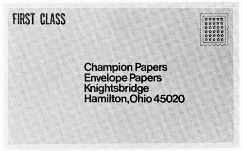 Envelope Papers, booklet