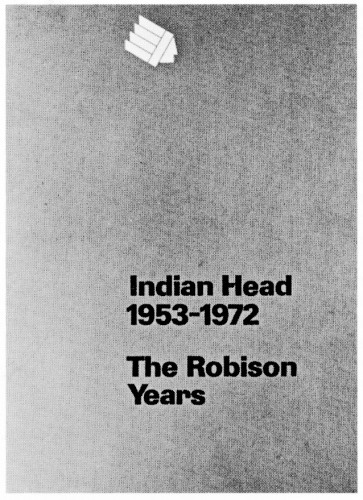 The Robison Years, book