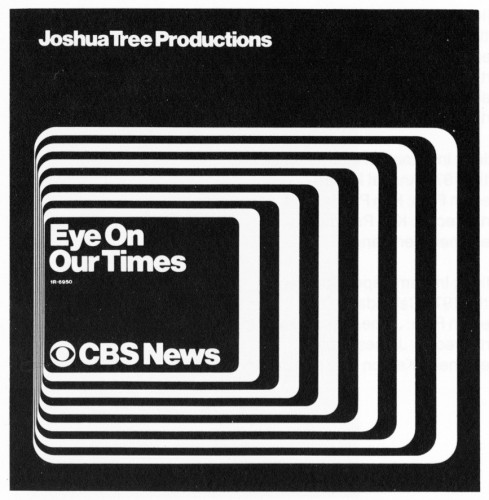 Eye on Our Times, CBS News, audio-visual educational kit