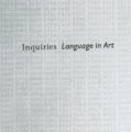 Inquiries: Language in Art
