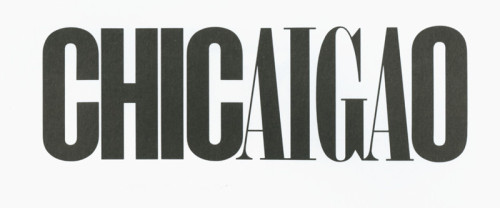 Chicaigao (AIGA in Chicago)