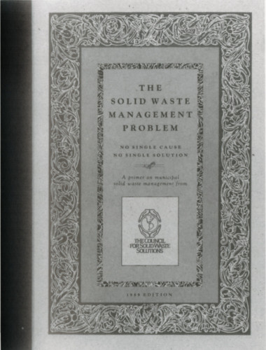 The Solid Waste Management Problem