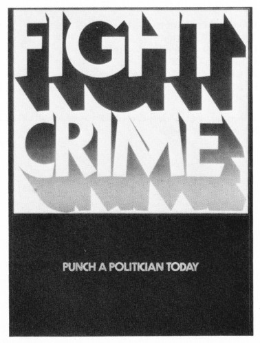 Fight Crime, poster