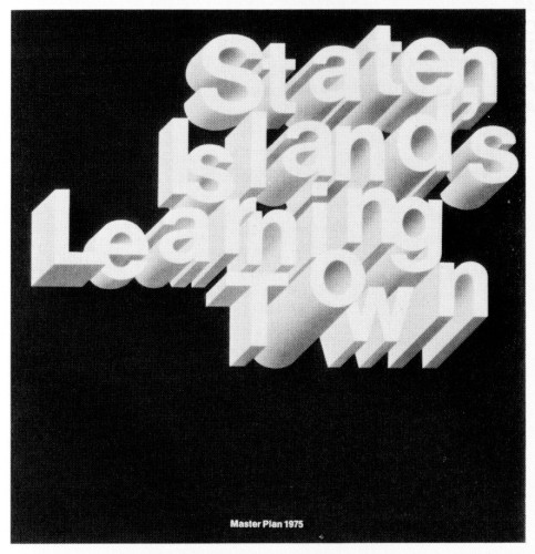 Staten Island's Learning Town, Master Plan 1975, report