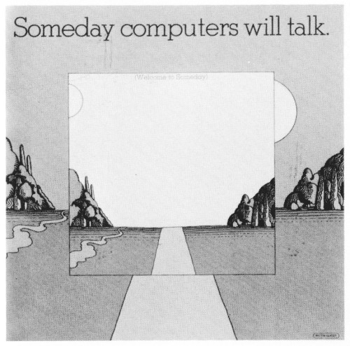 Someday Computers Will Talk,  brochure