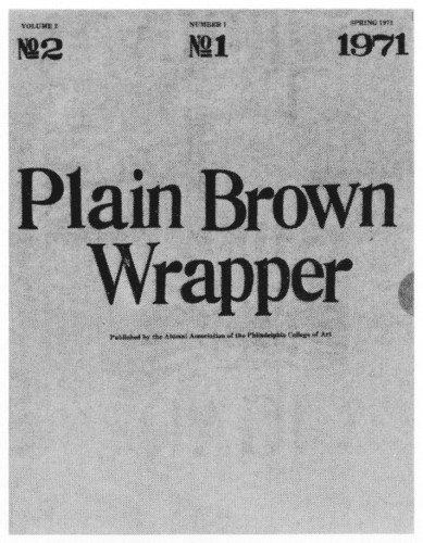 Plain Brown Wrapper, booklet