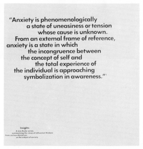 Insights: Carl Rogers on Anxiety, booklet