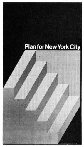 Plan for New York City, poster