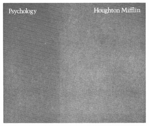 Psychology, brochure