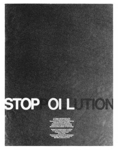 Stop Pollution, poster