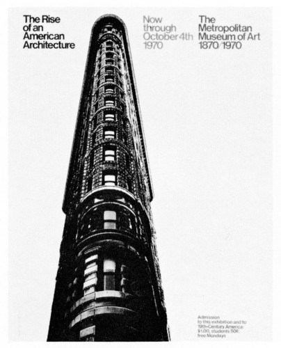 The Rise of an American Architecture, poster