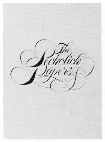 The Peckolick Papers, brochure