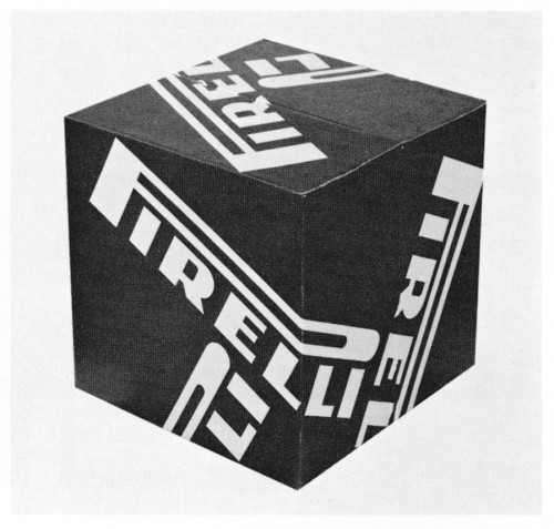 The Pirelli Box, promotional display block
