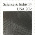 Science and Industry (U.S. Postage Stamp)