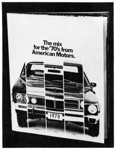 The Mix For The 70's From American Motors, brochure