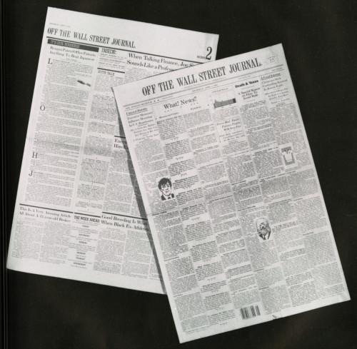 Off The Wall Street Journal (Newspaper Parody