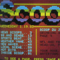 "Teletext Screen Design for ""Scoop"""