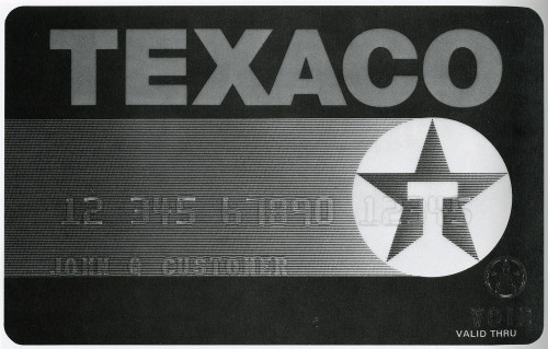 Texaco Credit Card