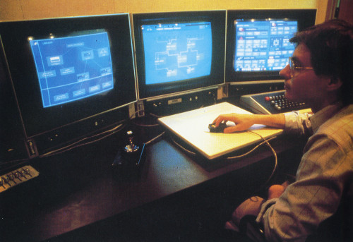 Program Visualization Workstation (Video Disc and Screen Displays)
