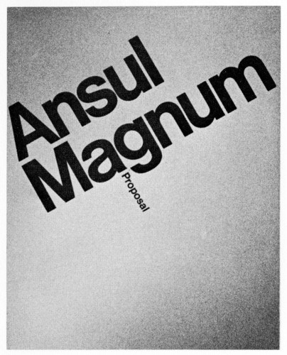 Ansul Magnum Proposal, brochure, folder and box