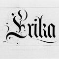 Erika, business card