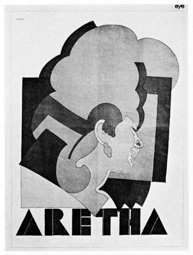 Aretha Franklin, poster